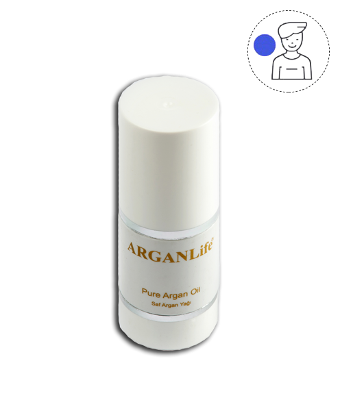 50 ML OF ULTRA NOURISHING PURE ARGAN OIL For Mustache & Bread