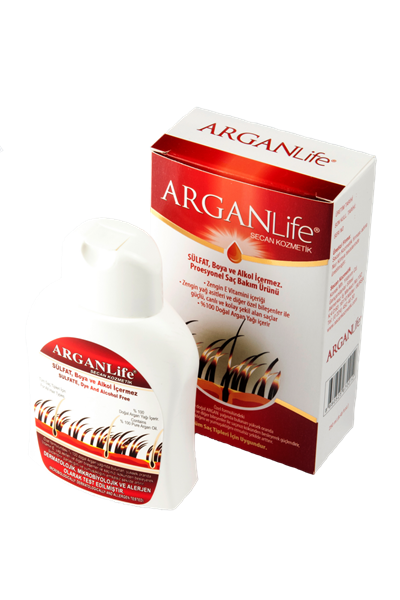 Bottle Of 250ml ARGANLIfe HAIR SHAMPOO + 8ml ArganLIfe Argan Oıl For Women