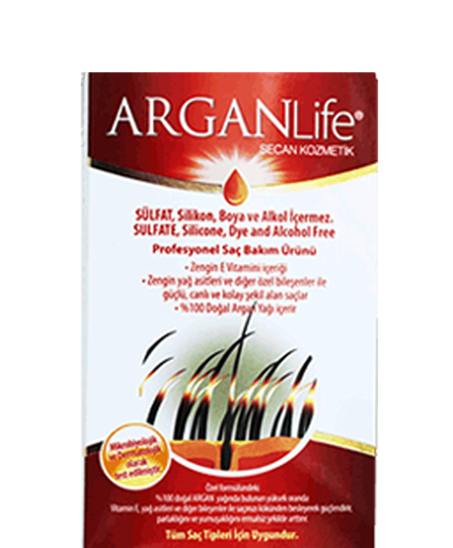 2 Bottles Of ArganLıfe Antı Haır Loss Shampoo And 8 Ml Argan Oıl For Women