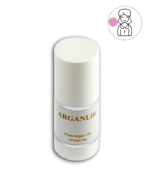 50 Ml ArganLıfe Pure Moroccan Argan Oıl Haır And Skın Treatment For Women
