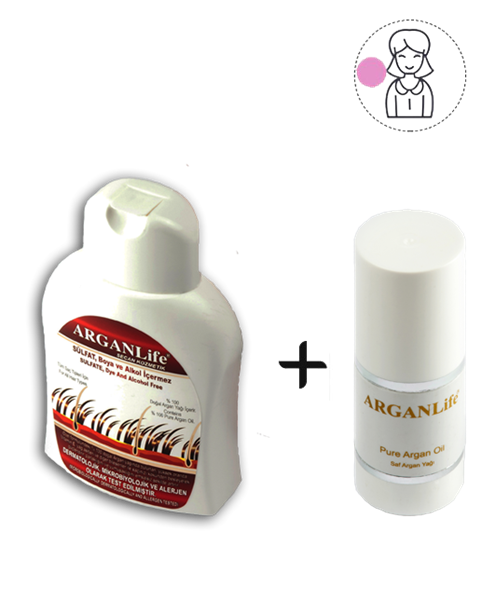 1 Bottle Of ArganLıfe + 50 Ml Argan Oıl For Women