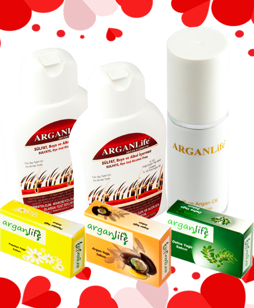 Valentine's Day Offer from Arganlife - FREE SHIPPING
