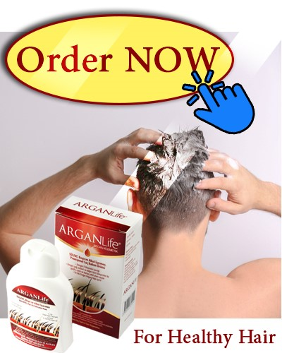 anti hari loss ArganLife shapoo for men